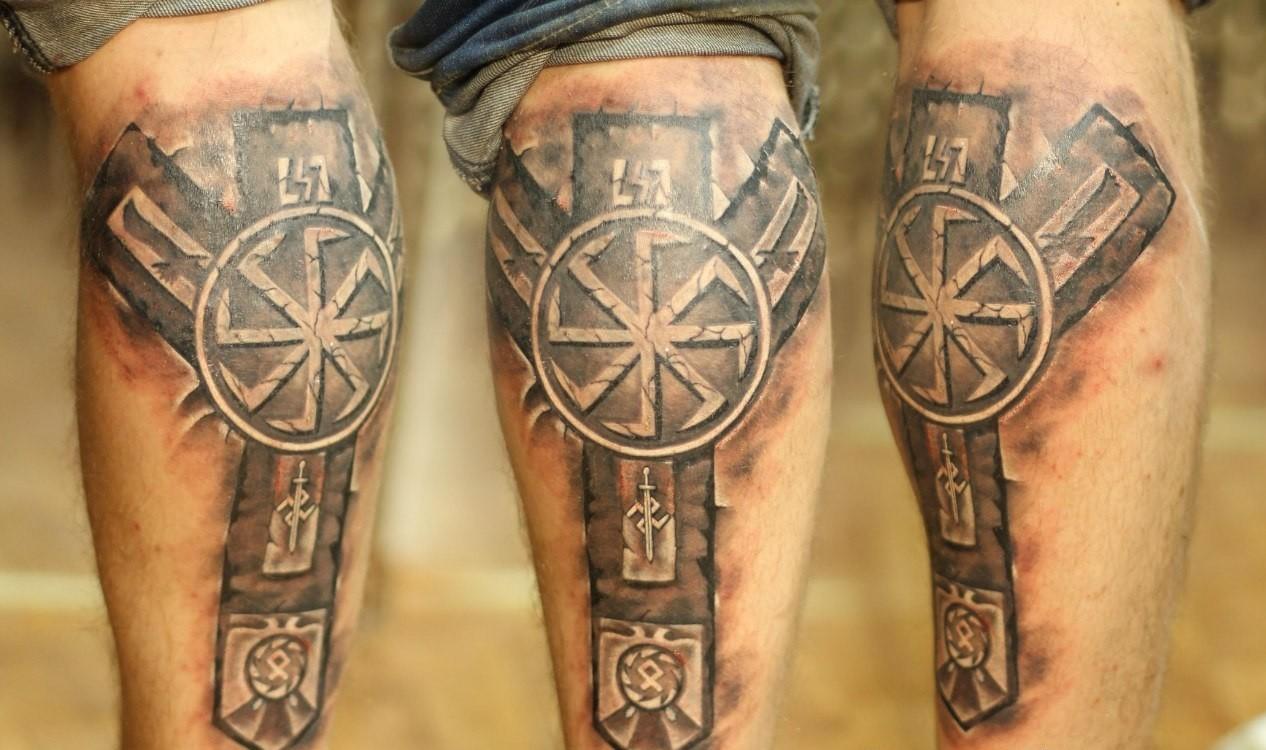 Superiore викингов скандинавские руны тату