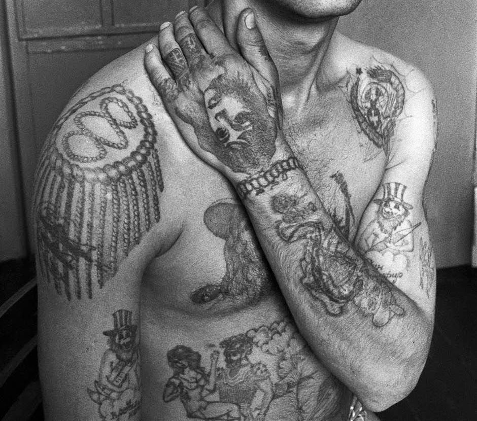 фото уголовных татуировок это