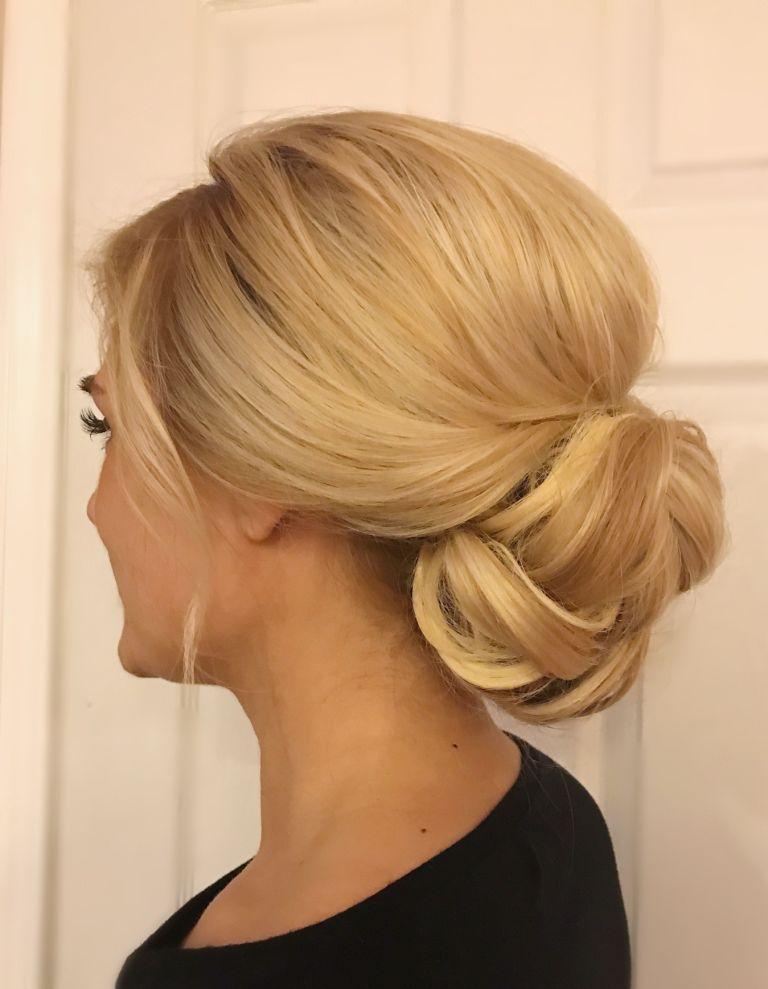 вспомните офисные прически на длинные волосы фото сложных тяжелый