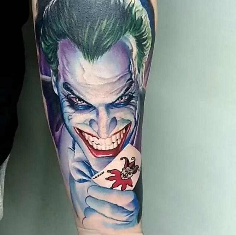 Картинка джокера татуировок