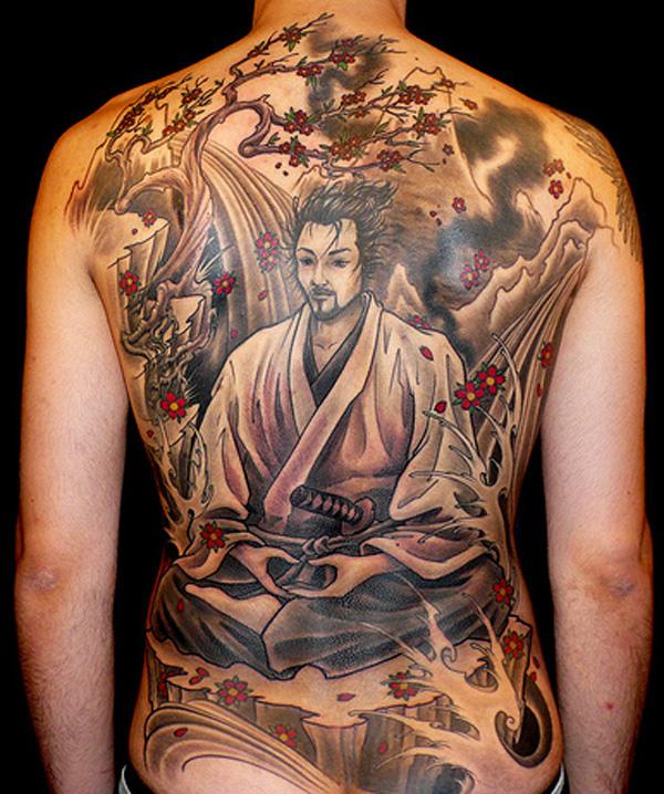 японских татуировок
