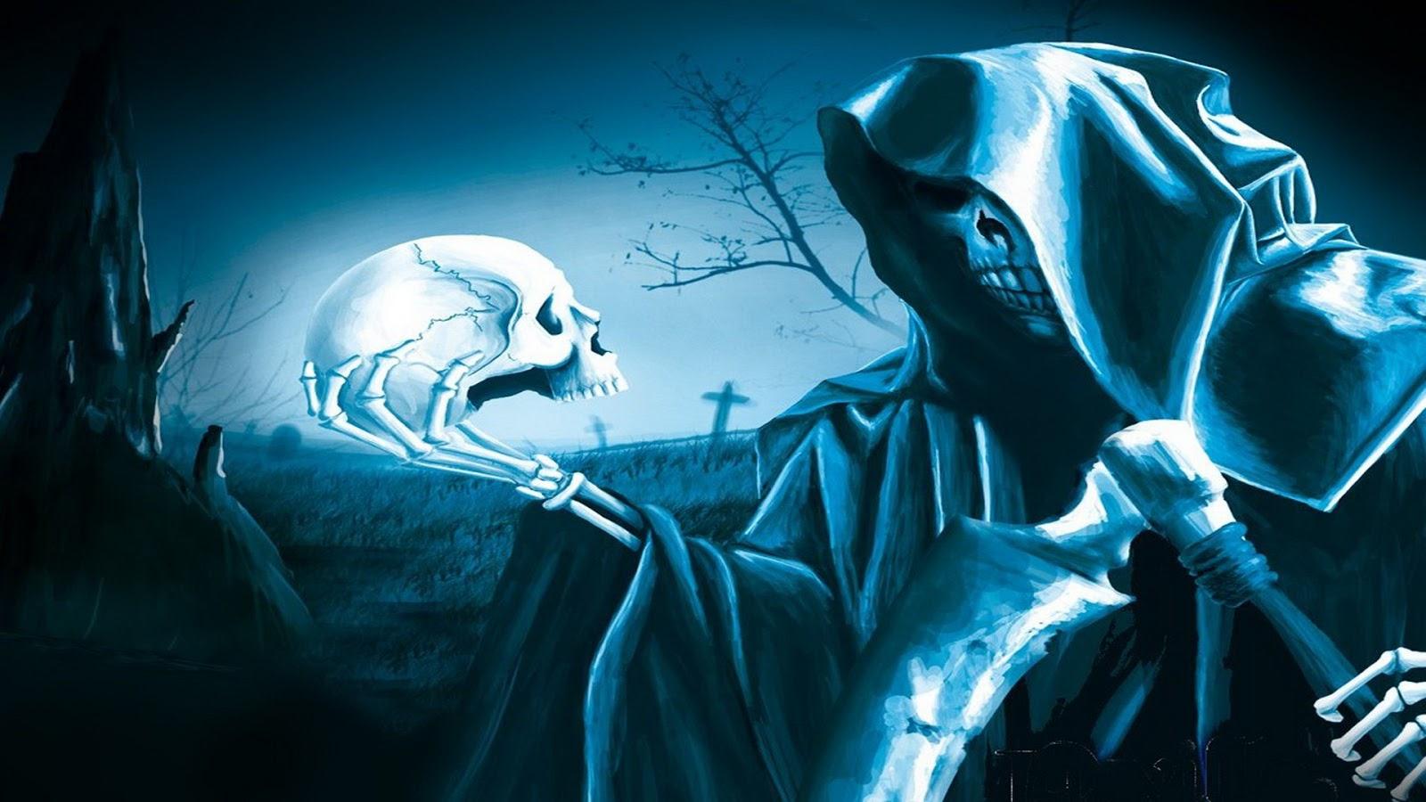 Вечер, крутые картинки смерть с косой