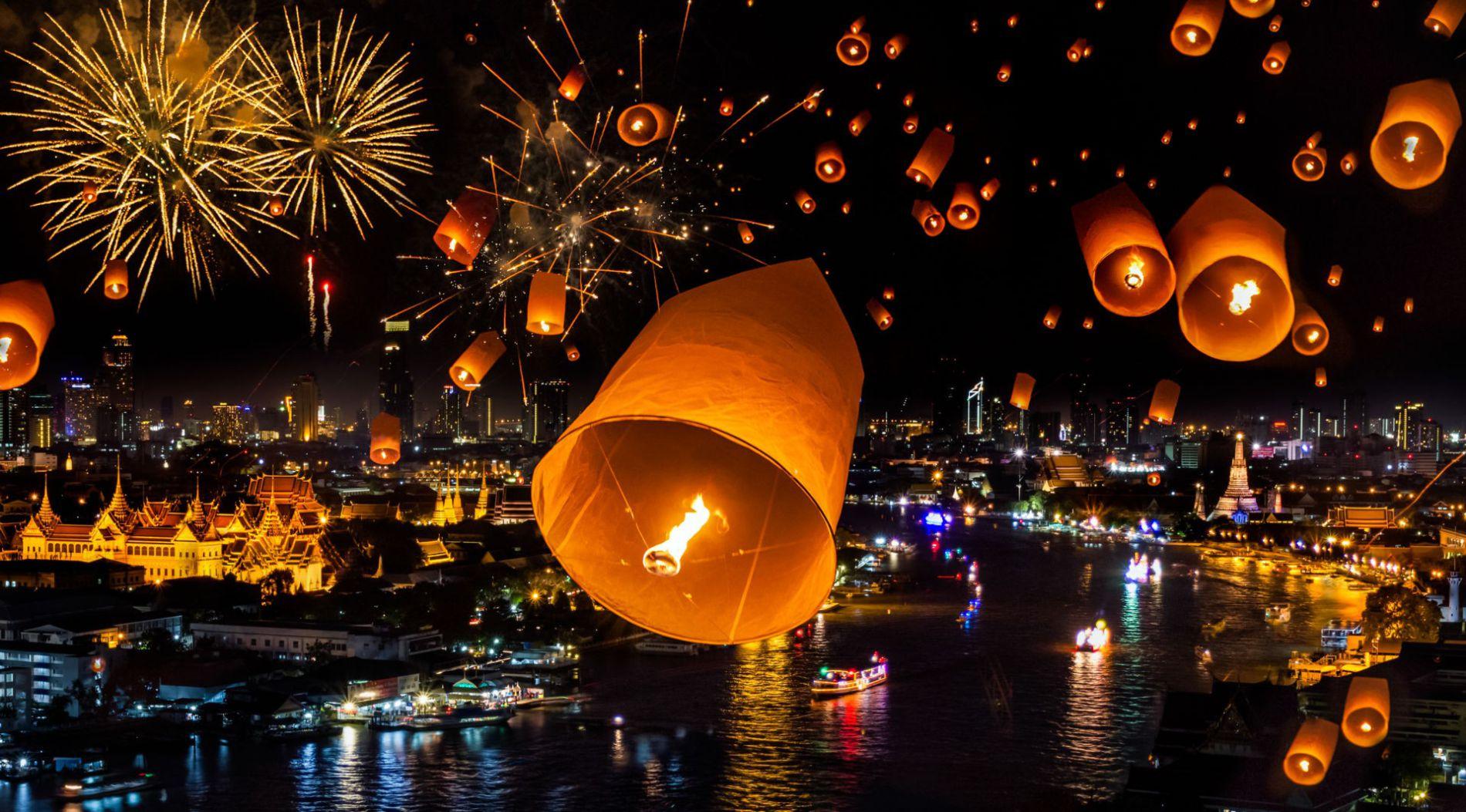 photo Новый 2019 год в таиланде изображения