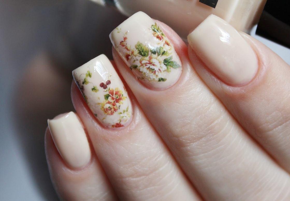 Красивый нежный маникюр средние ногти фото как правило