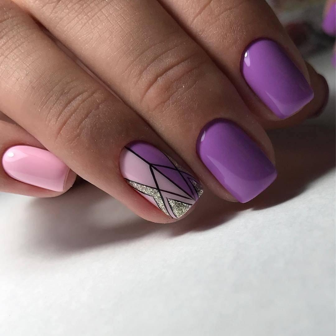 Модный маникюр 2019 - 2020 на короткие ногти! 100 фото