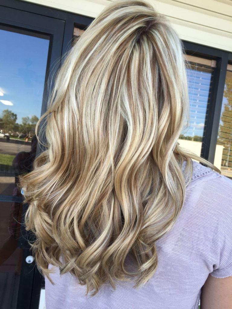 Русый цвет волос с мелированием картинки