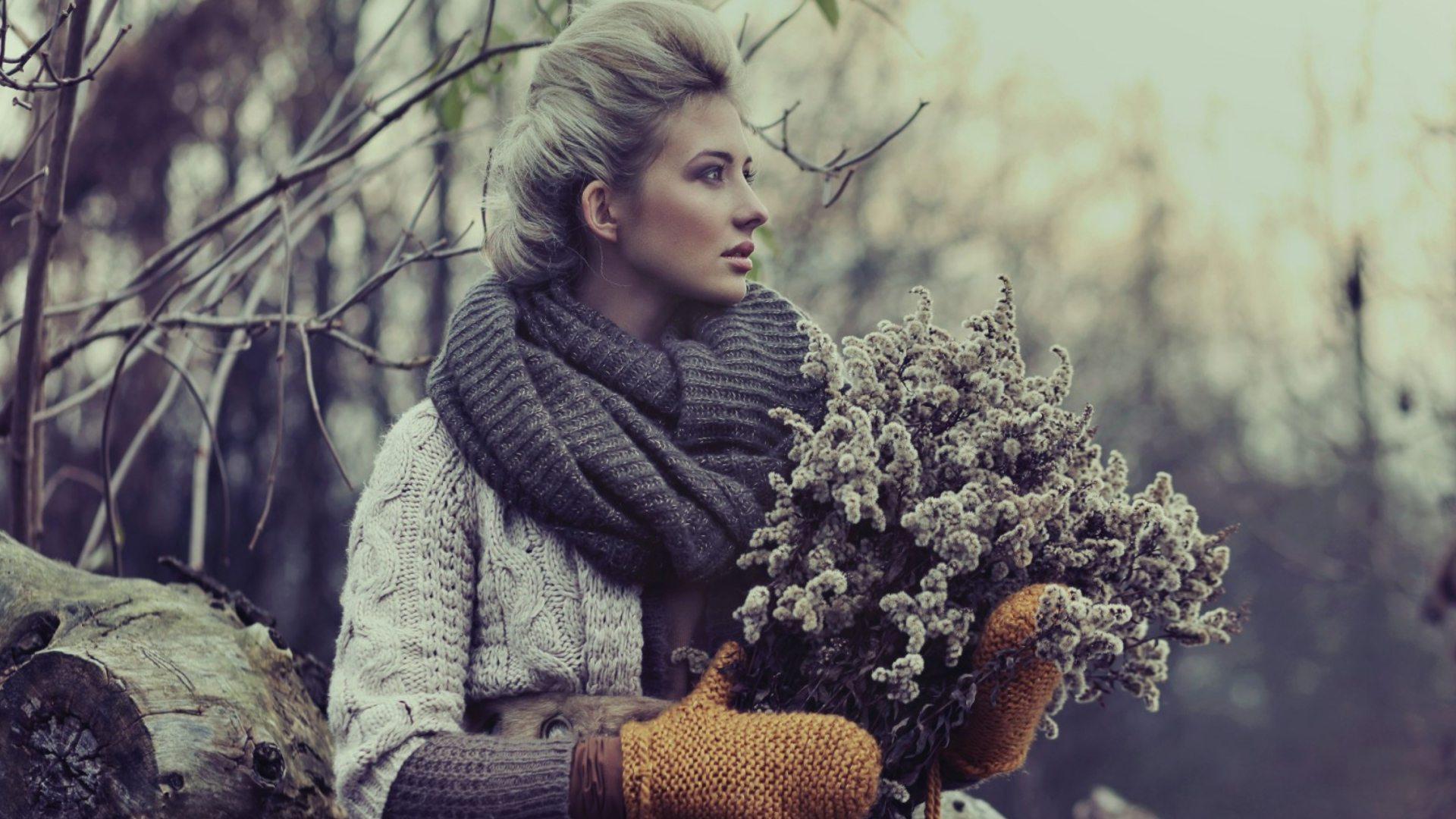 Интересные фотосессии холодной весной