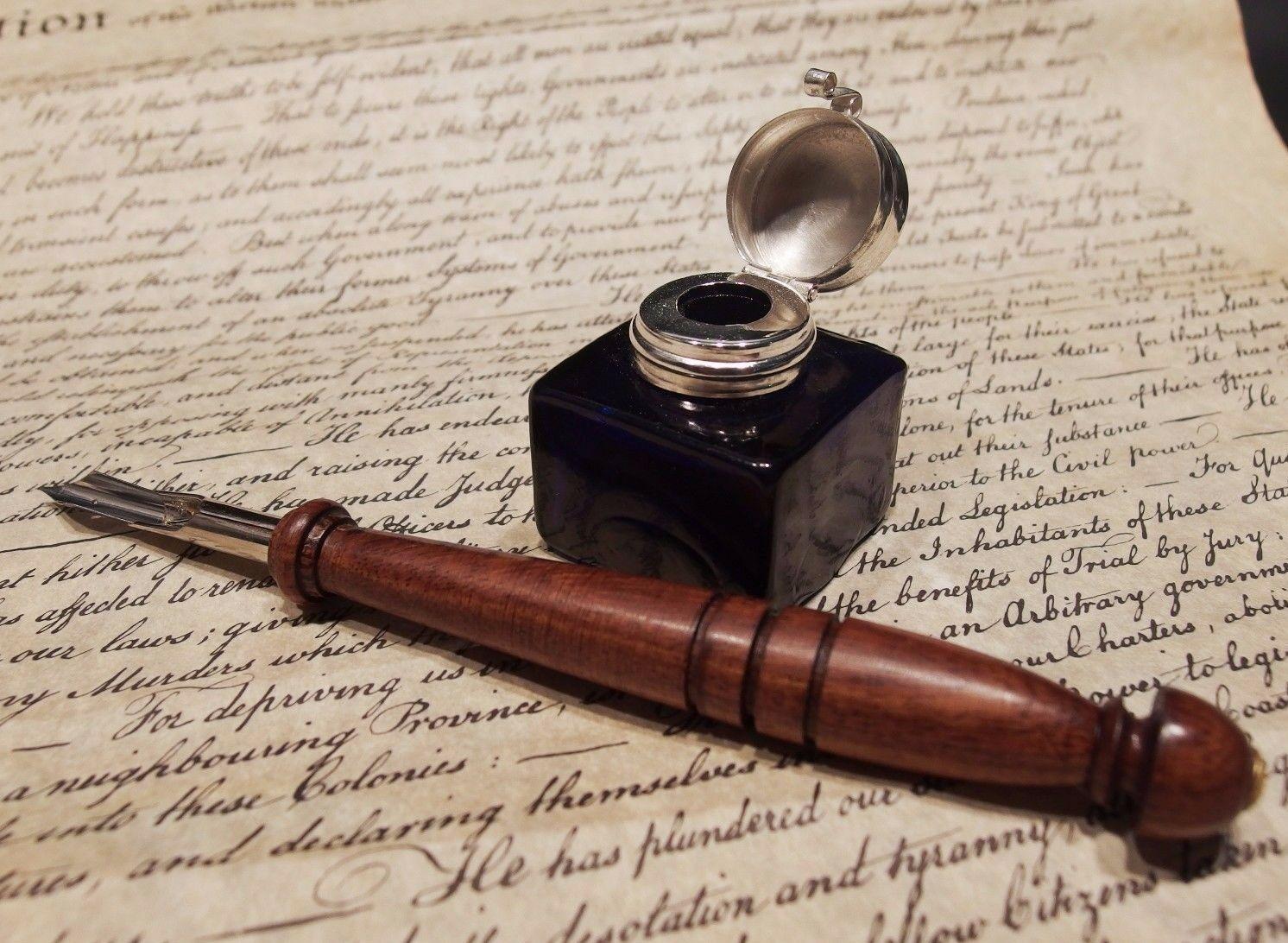 Как заправить перьевую ручку?