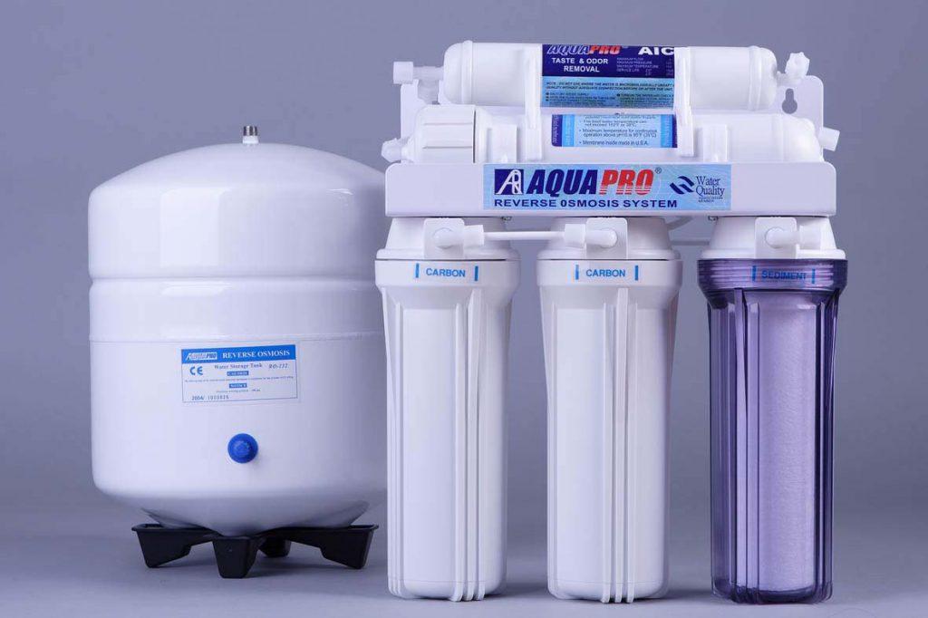 Как очистить ржавую воду?