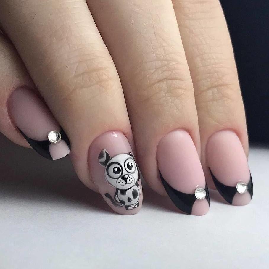 Рисунки на ногтях френч прикольный, поздравления марта женщины