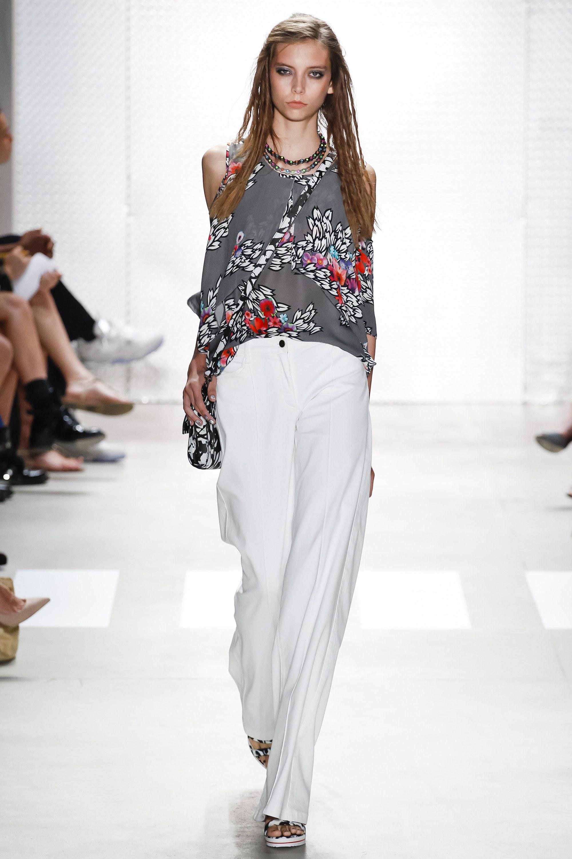 Блузы с подиума фото