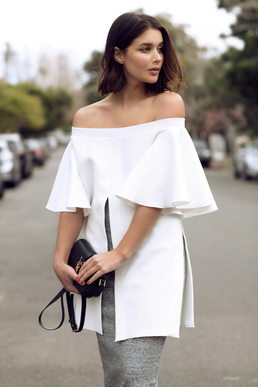 38344287c7d Модные женские блузки лето-2019  100 фото тенденций