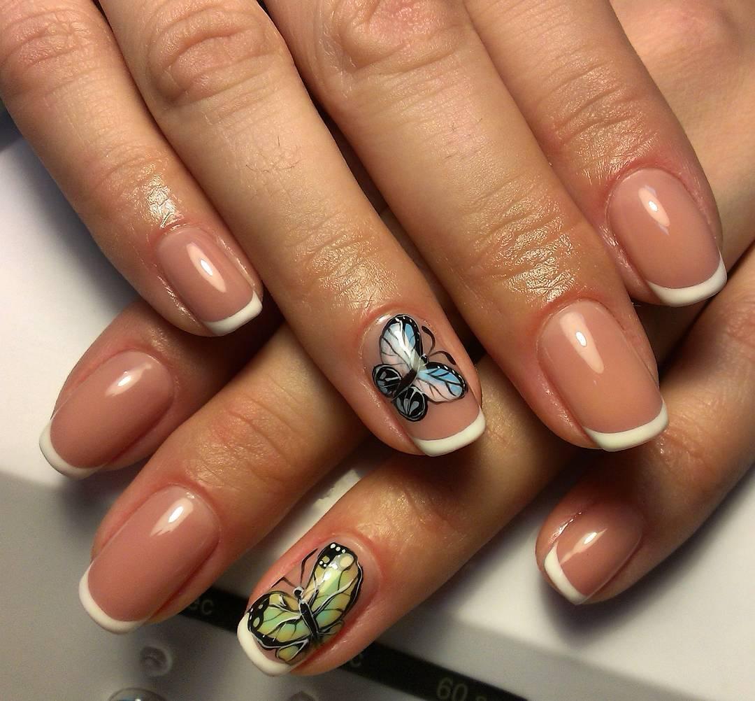 Шеллак фото ногтей с рисунками дизайн