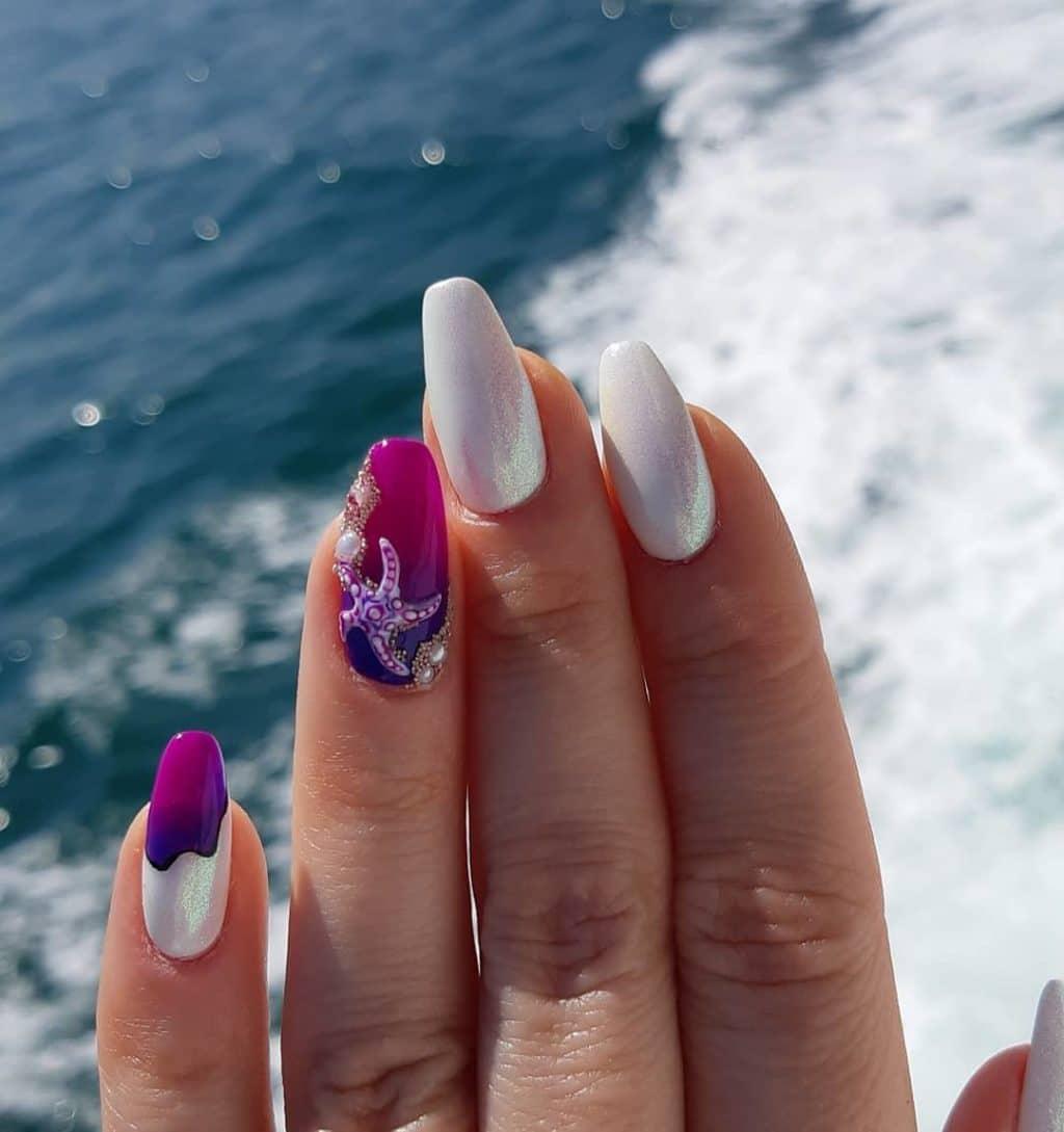 Маникюр в отпуск: стильные тенденции и новинки на фото