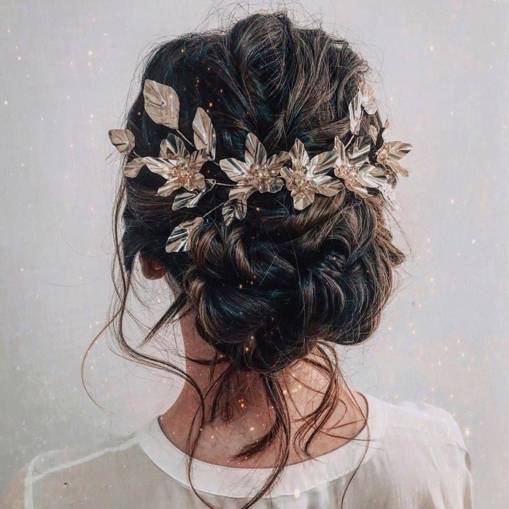 Свадебные прически на длинные волосы 2020