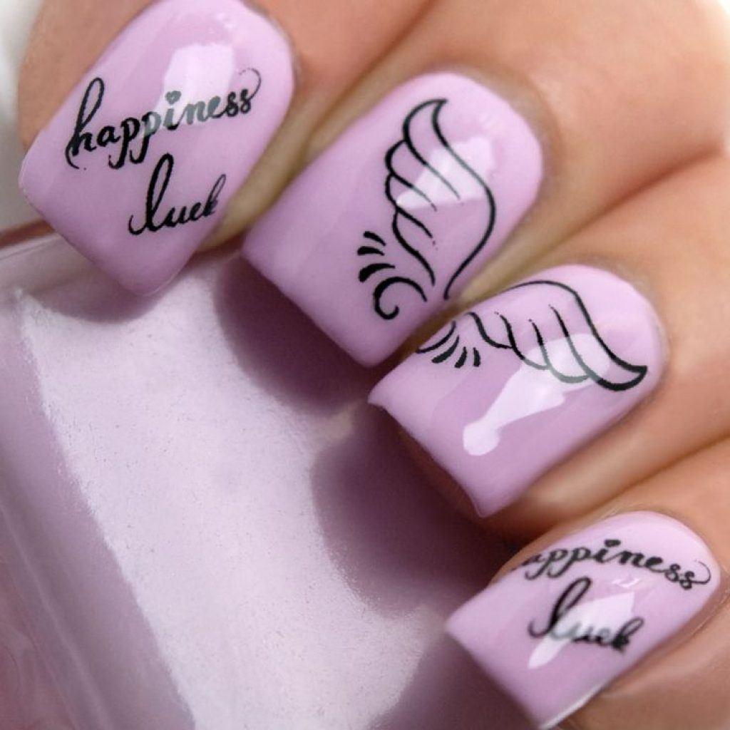Дизайн ногтей картинки с надписями, картинки