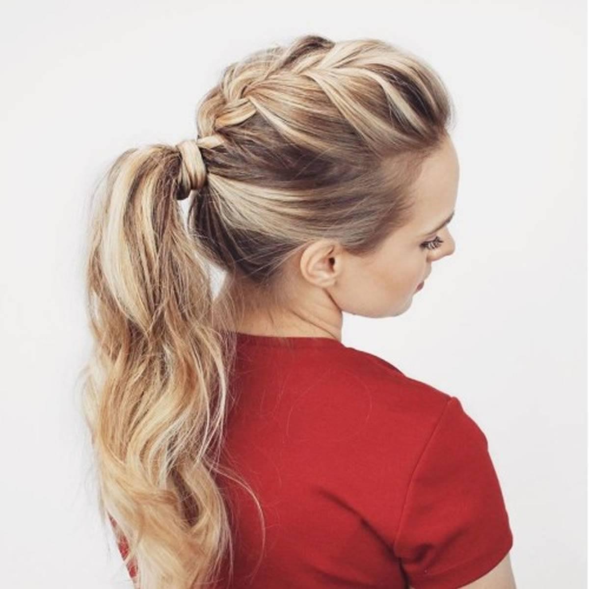 Укладка длинных волос на каждый день фото