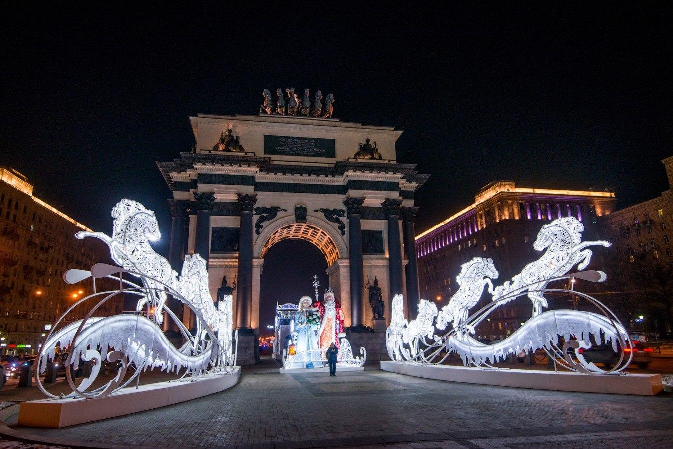 Москва 2020 год фото новый год
