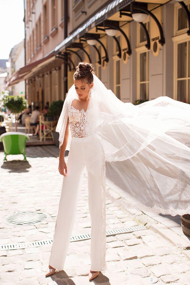 просто свадебный брючный костюм для невесты фото вырастет, ему
