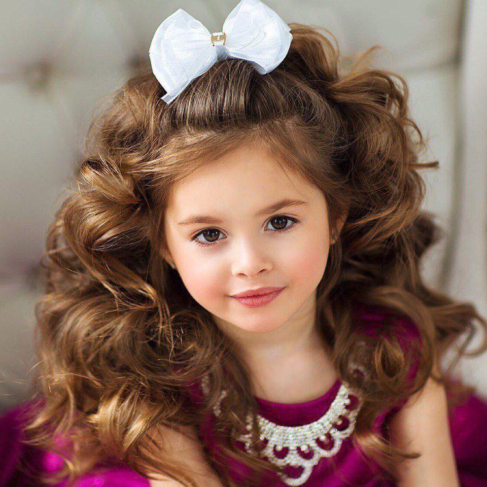 Прически в картинках на маленьких девочках
