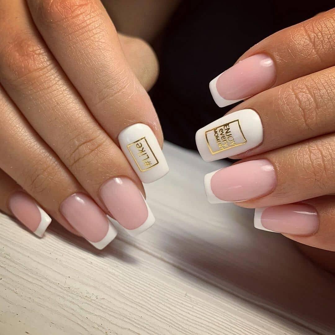 Картинки квадратные ногти маникюр