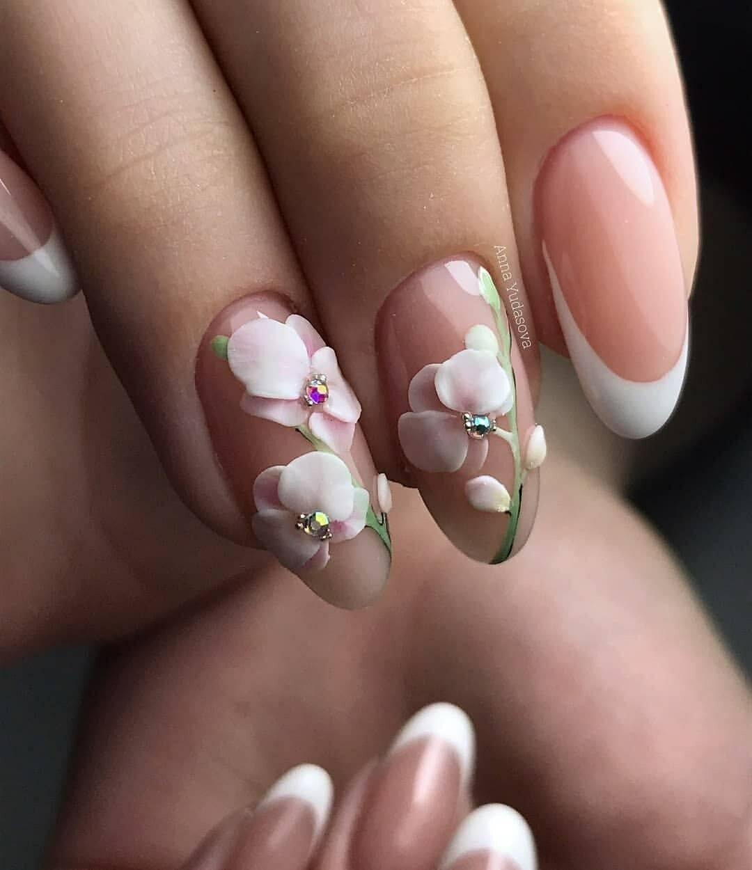 карандашной дизайн акриловых ногтей фото новинки поморы