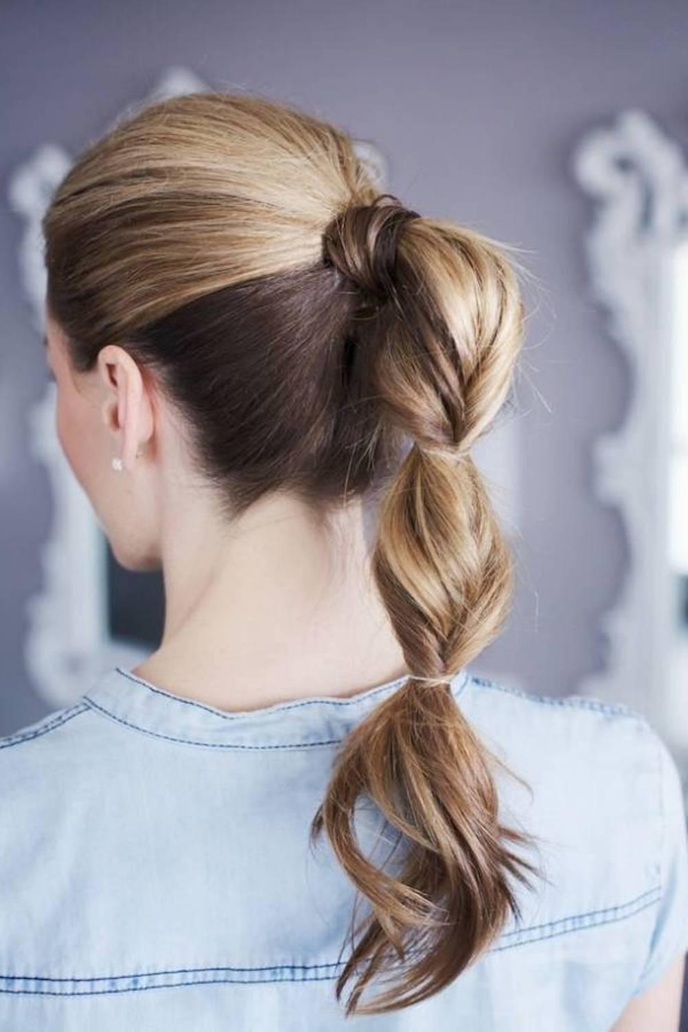 картинки легких причесок на длинные волосы