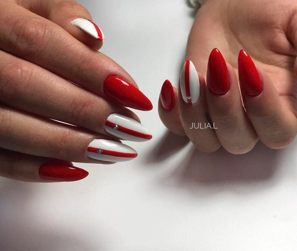 Маникюр на длинные ногти: новинки фото ногтей | 867x1024