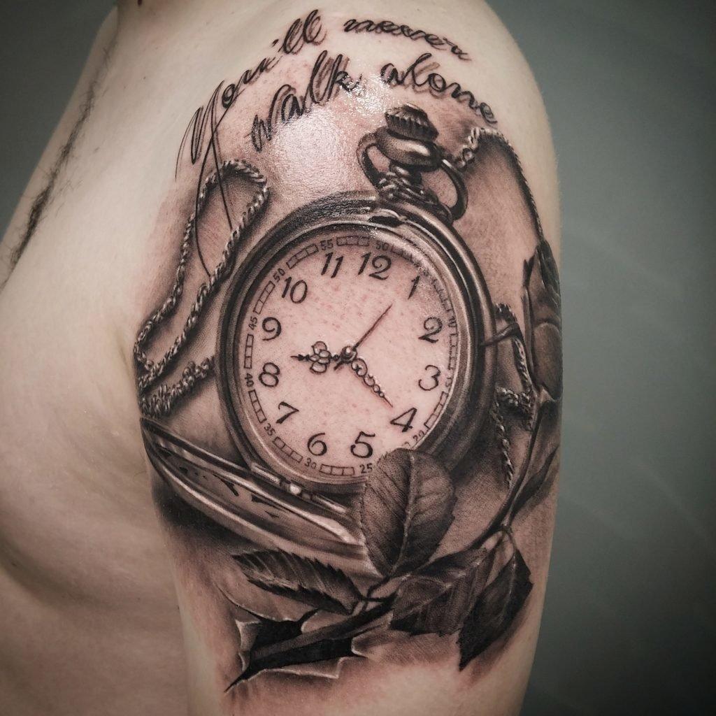 оценивают фото тату часов и обозначение впечатление, что петербурге