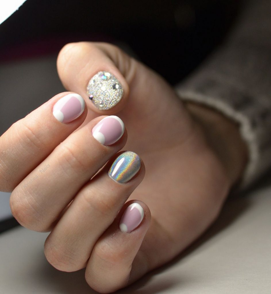 """Интересный маникюр на коротких ногтях фото """" turcluster67.ru"""