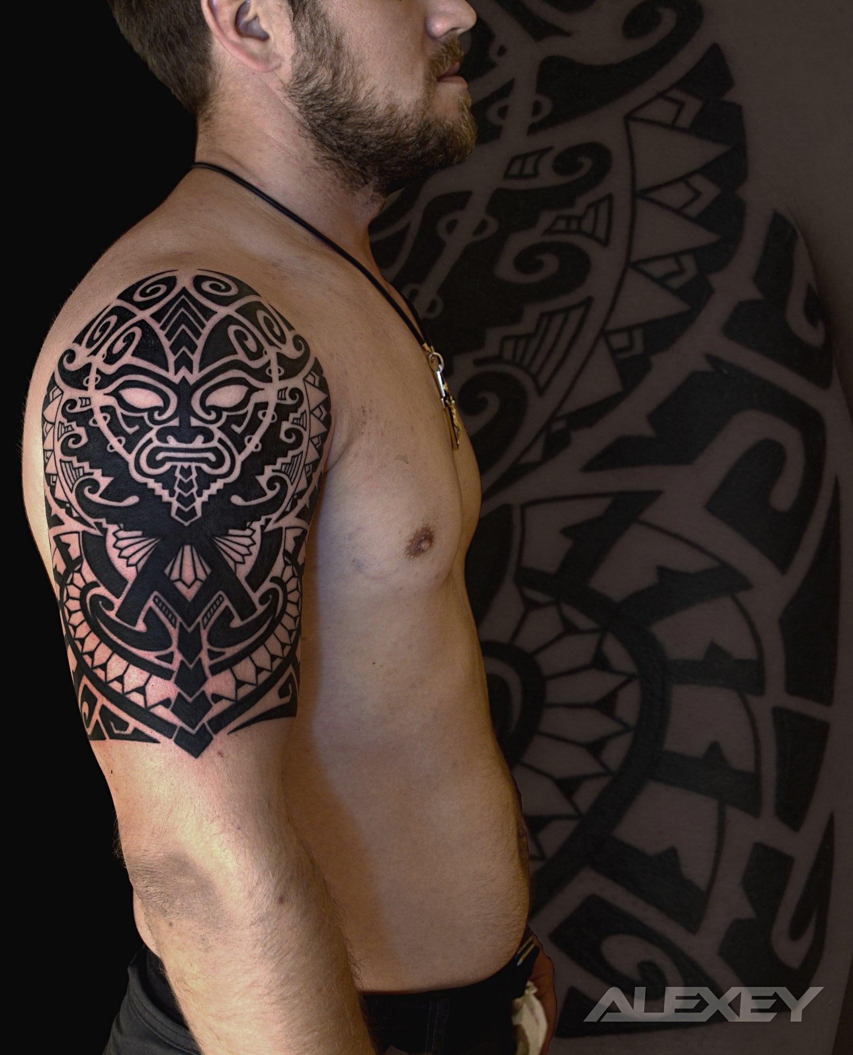 так сегодня тату в славянском стиле фото стилизация под