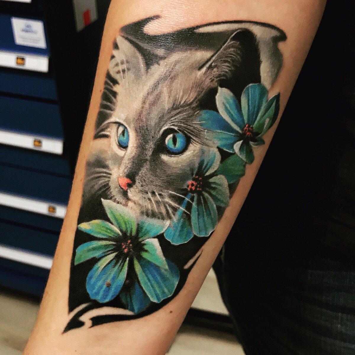 фото картинки кошек для тату является