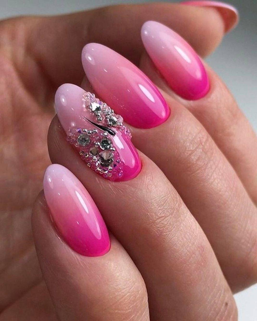 Розовый маникюр 2020: фото идей дизайна ногтей -Фото - модны