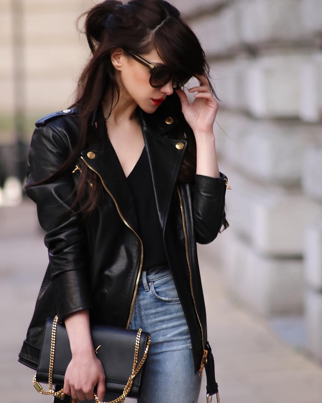 Женская кожаная куртка: Выбираем актуальную модель сезона и создаём модные луки