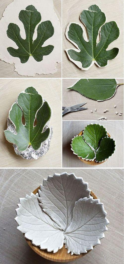 Листья для деревьев своими руками 832