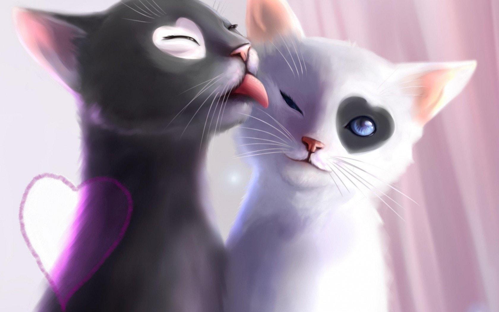 Фото мультяшных кошек на аву