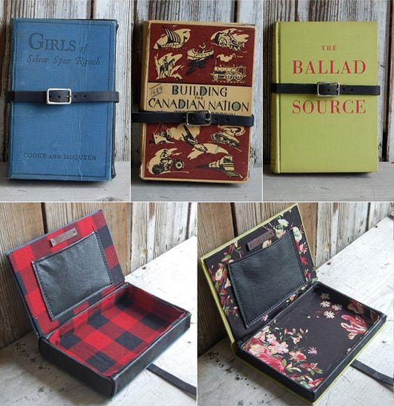 Как сделать клатч из книг