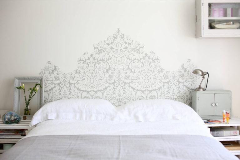 Фото как украсить изголовье кровати