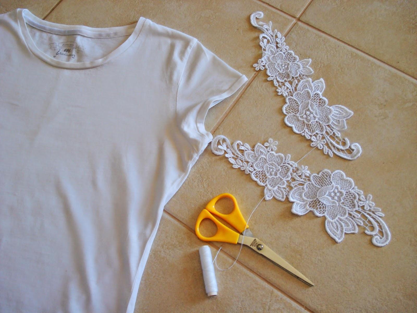 Как украсить футболку своими руками (76 фото варианты)