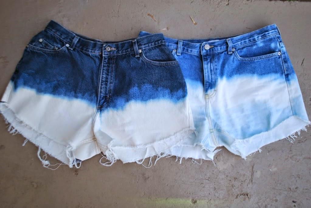 Если отбелить джинсы в домашних условиях 598