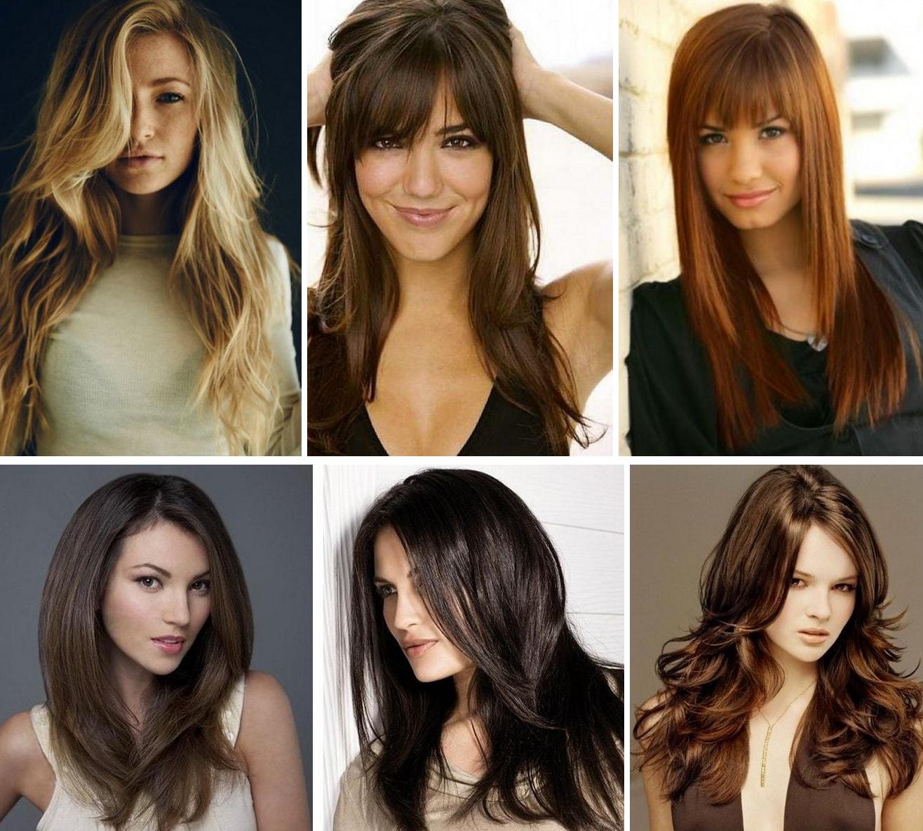 Причёски 2017 года женские с челкой