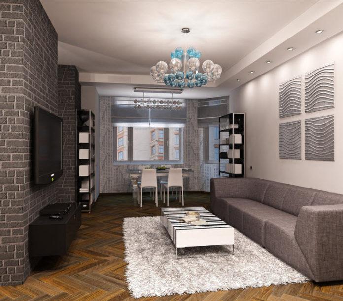 Современный дизайн зала 2017 современные идеи