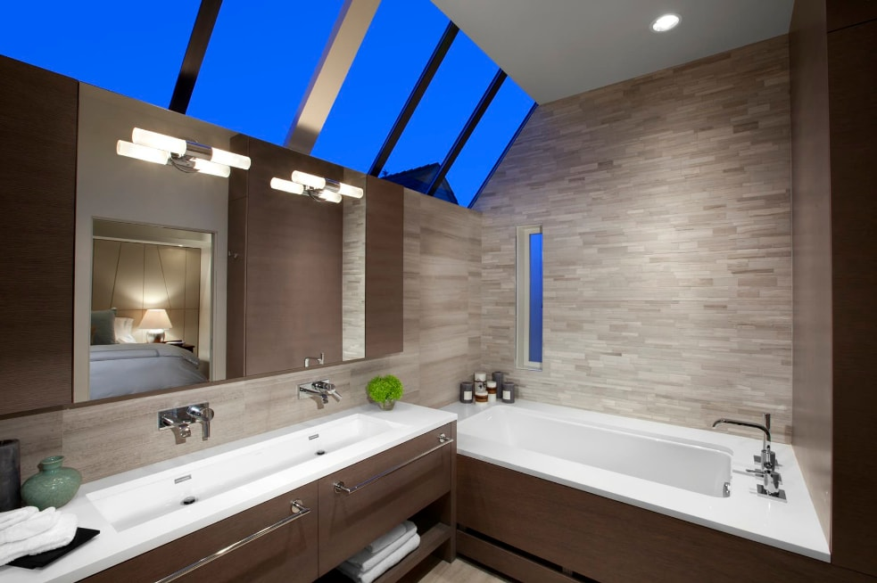 30 Exquisite and Inspired Bathrooms with Stone Walls  Decoist