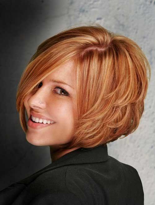 Стрижки для густых волос с