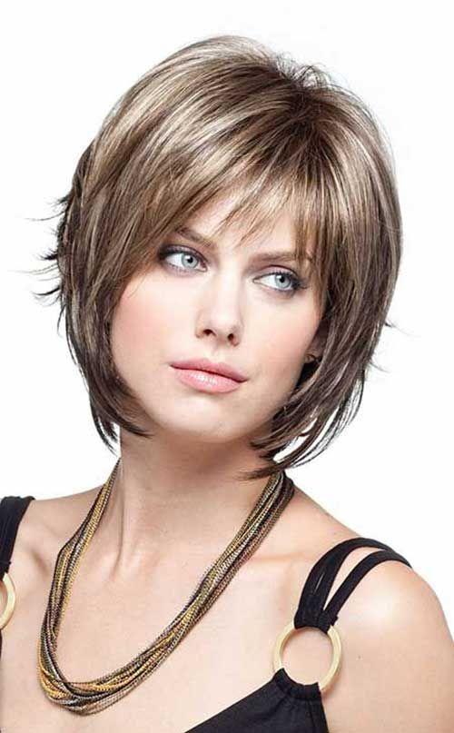 Женские стрижки для коротких волос лесенкой