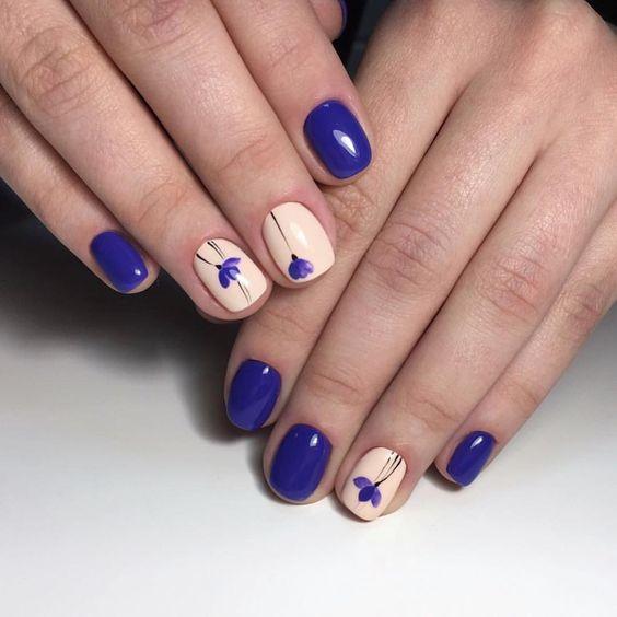 Шилак ногтей со стразами на короткие ногти 2017-2018