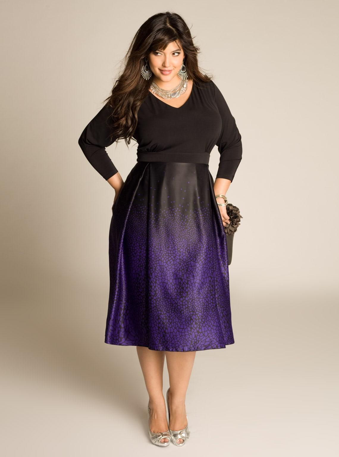 Фото платьев для очень полных