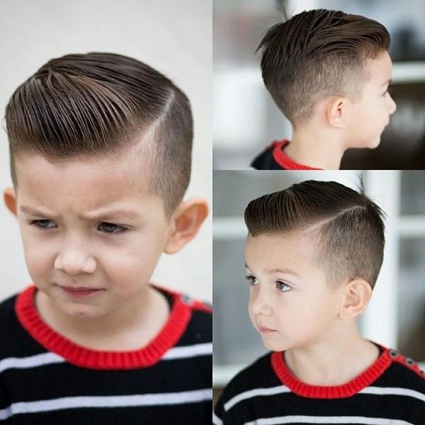 Хорошие причёски для мальчиков фото