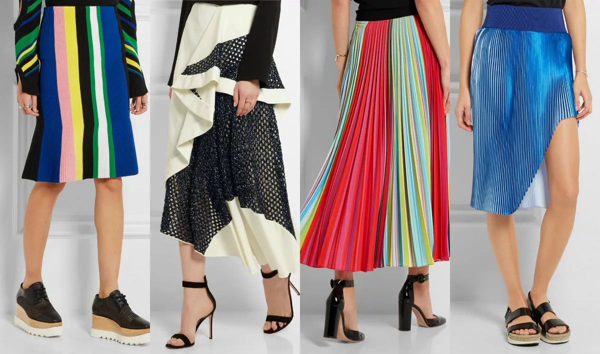 Какие юбки модны в 2017