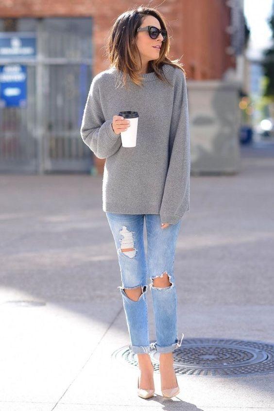 Модные джинсы своими руками 2017